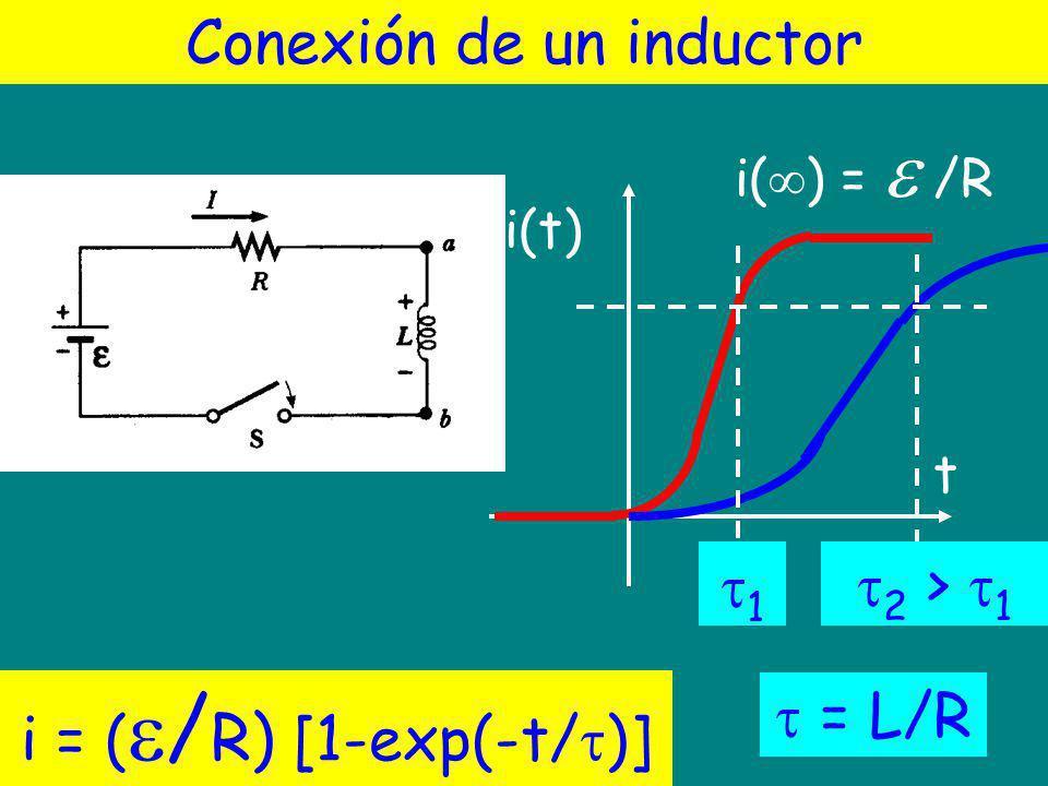 Conexión de un inductor