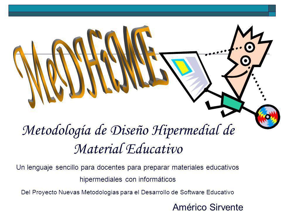 Metodología de Diseño Hipermedial de Material Educativo