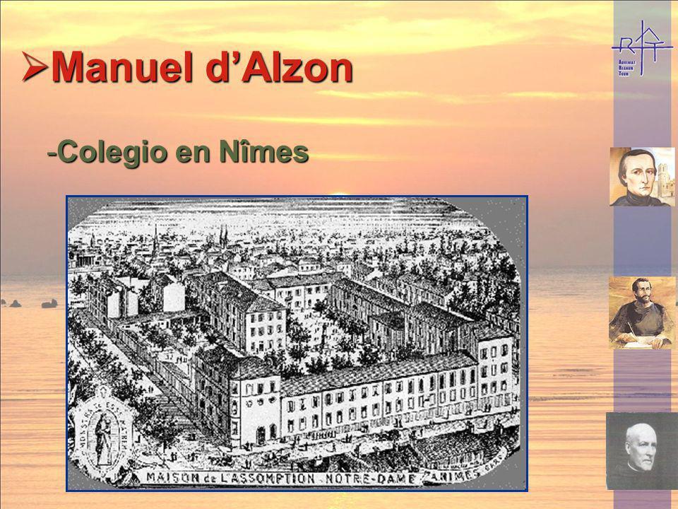Manuel d'Alzon Colegio en Nîmes