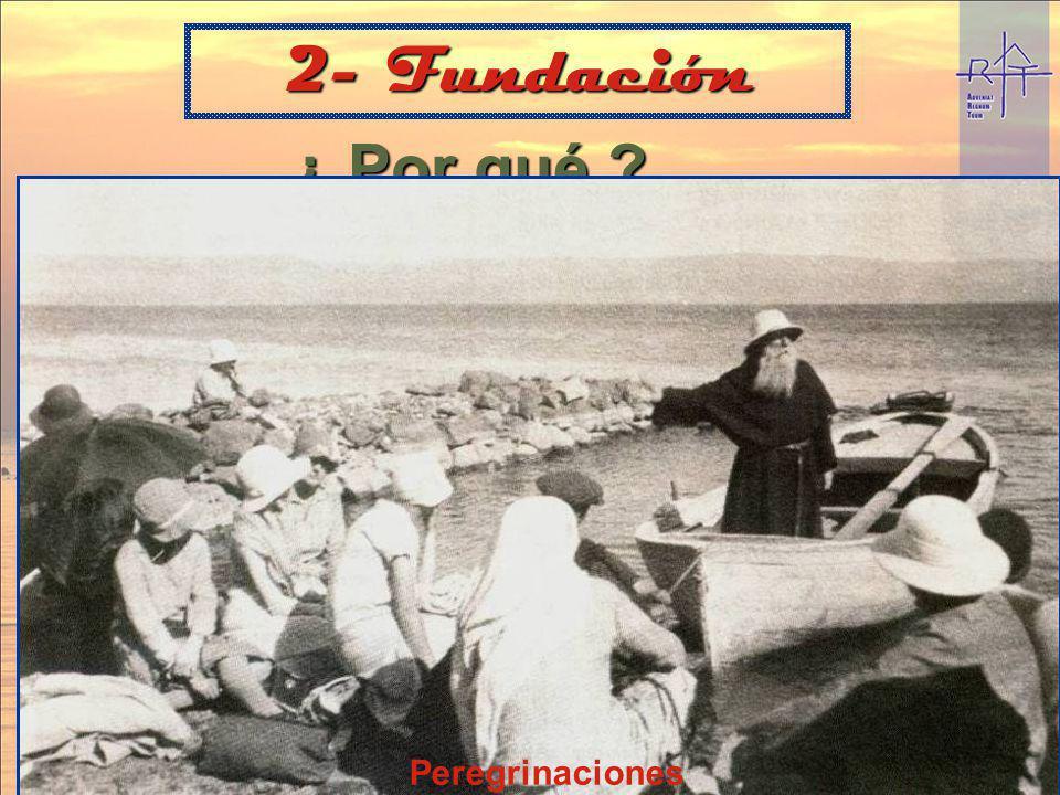 2- Fundación ¿ Por qué « Volver a Cristo »