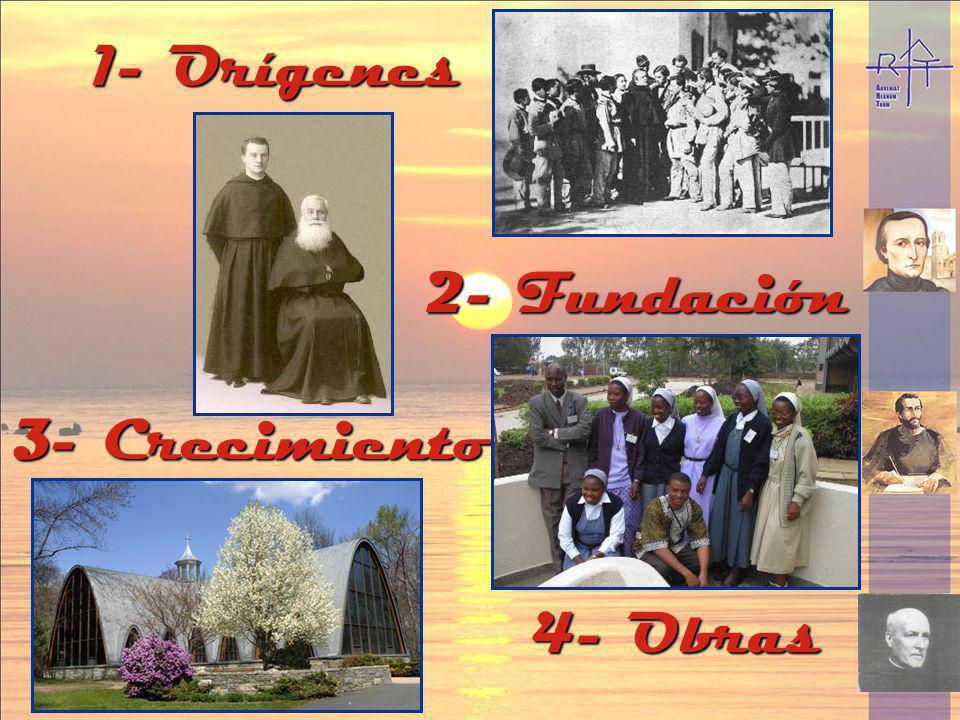 1- Orígenes 2- Fundación 3- Crecimiento 4- Obras