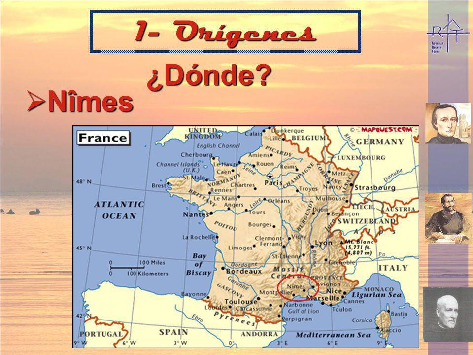 1- Orígenes ¿Dónde Nîmes