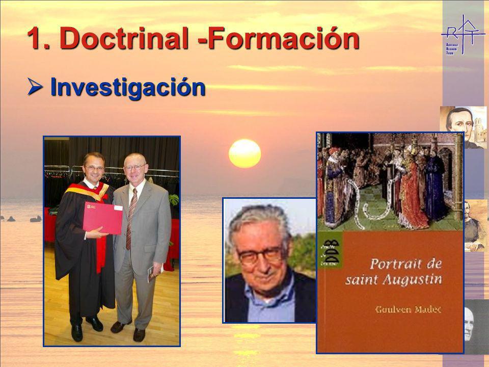 Doctrinal -Formación Investigación