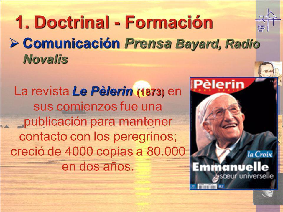 Doctrinal - Formación Comunicación Prensa Bayard, Radio Novalis