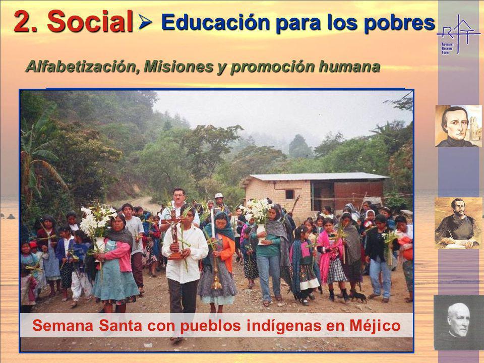 2. Social Educación para los pobres