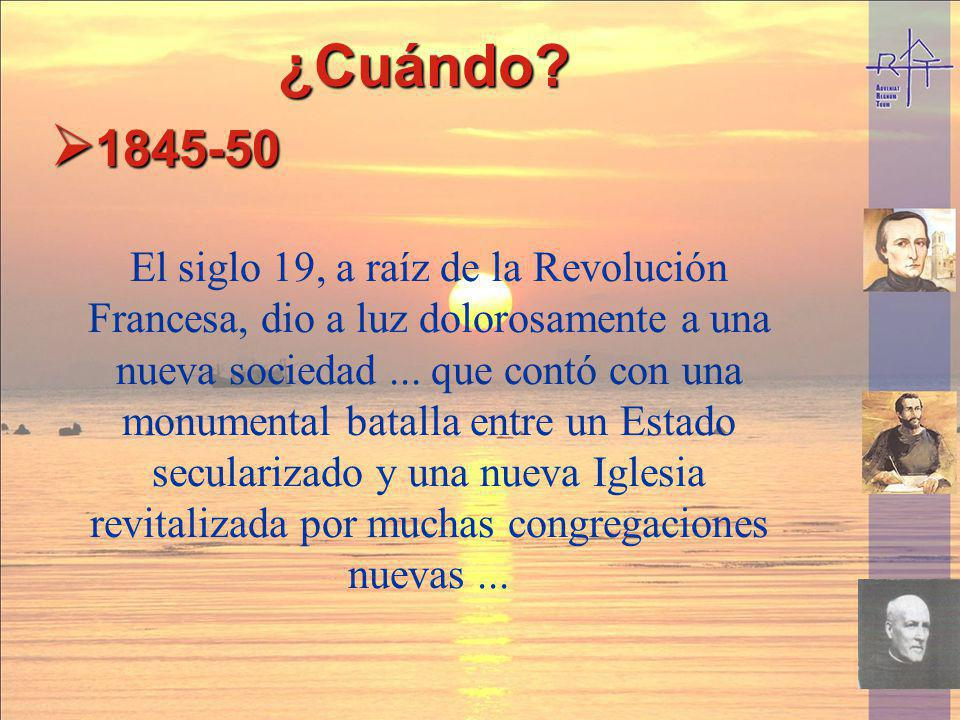 ¿Cuándo 1845-50.
