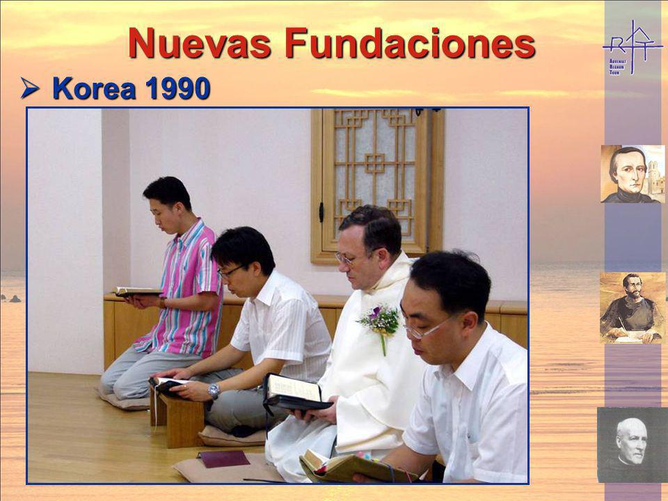 Nuevas Fundaciones Korea 1990