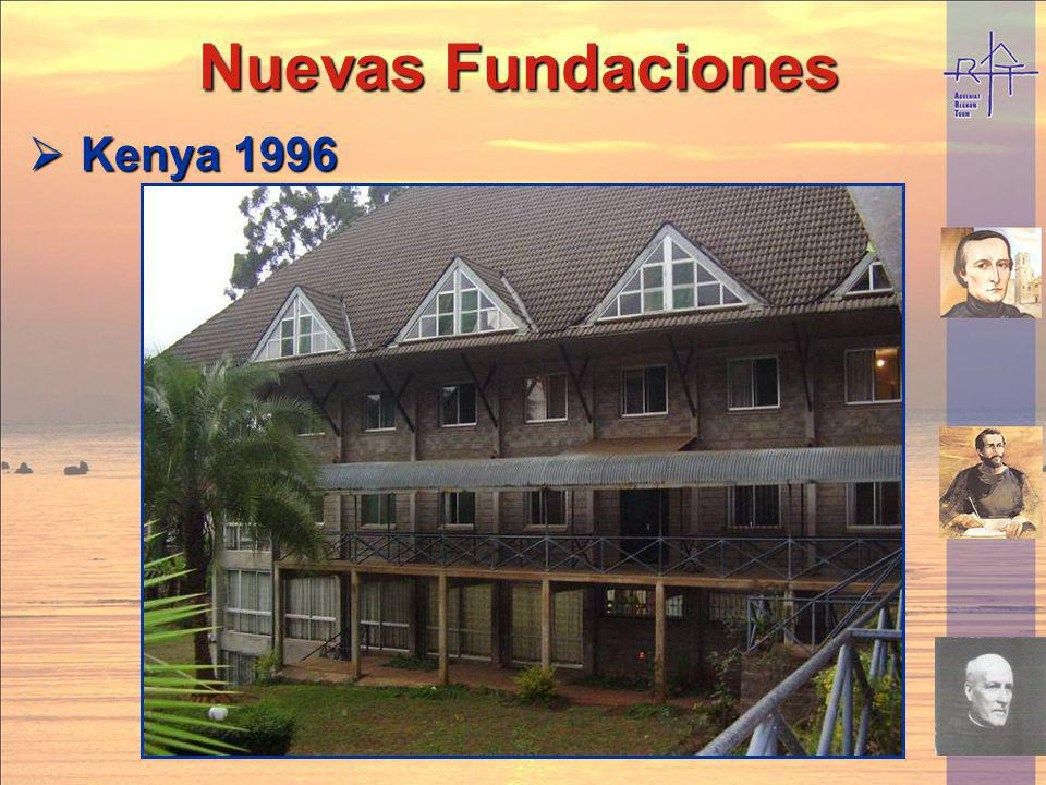 Nuevas Fundaciones Kenya 1996
