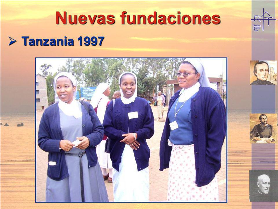 Nuevas fundaciones Tanzania 1997