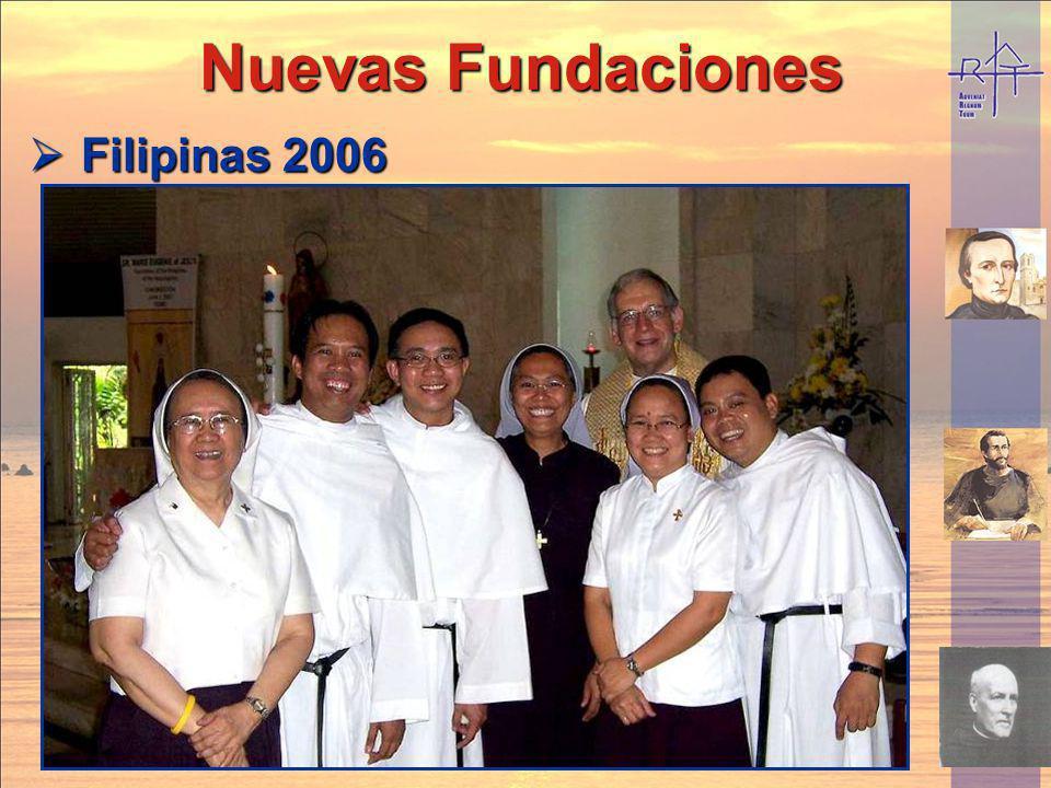 Nuevas Fundaciones Filipinas 2006