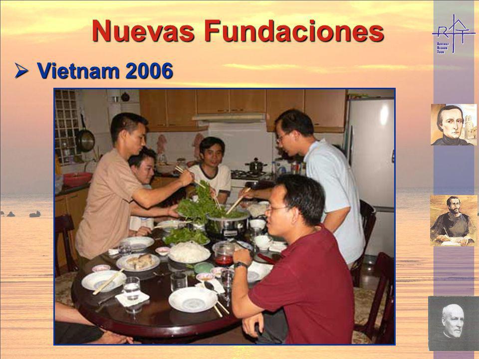 Nuevas Fundaciones Vietnam 2006