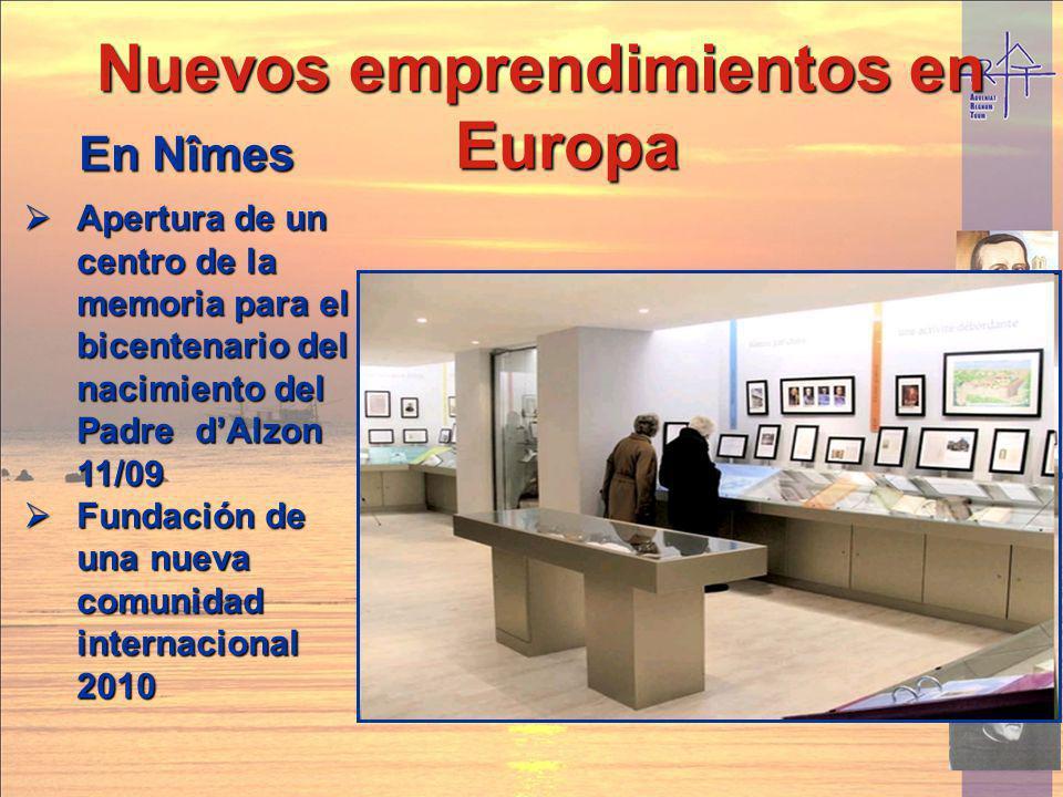 Nuevos emprendimientos en Europa