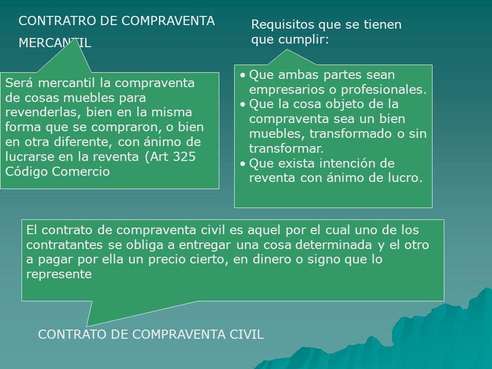 CONTRATRO DE COMPRAVENTA