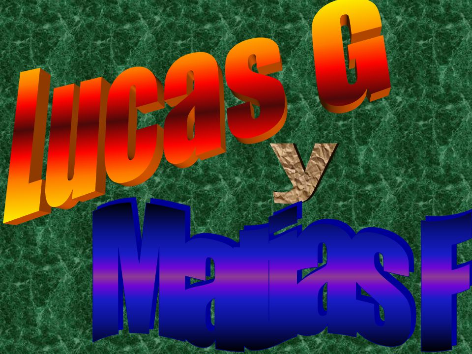 Lucas G y Matias F