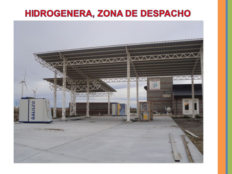 HIDROGENERA, ZONA DE DESPACHO