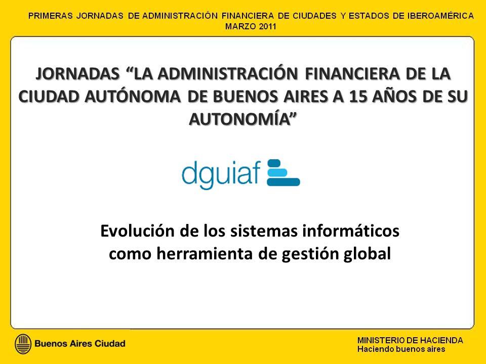 JORNADAS LA ADMINISTRACIÓN FINANCIERA DE LA CIUDAD AUTÓNOMA DE BUENOS AIRES A 15 AÑOS DE SU AUTONOMÍA