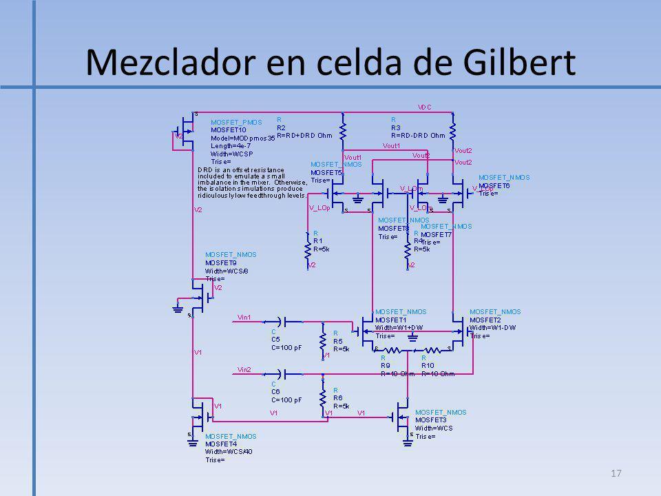 Mezclador en celda de Gilbert