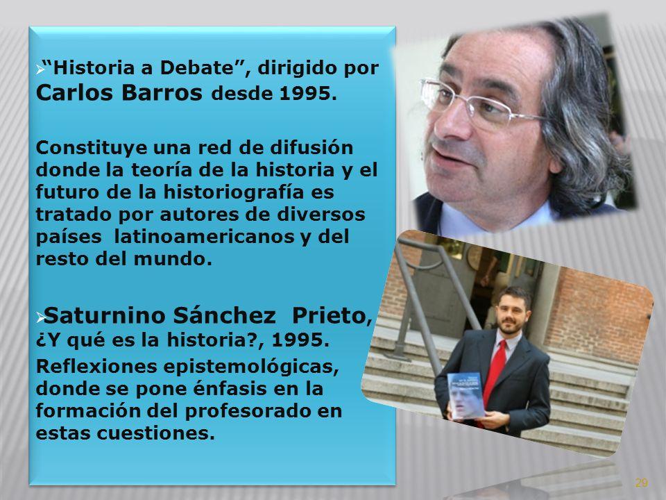 Saturnino Sánchez Prieto, ¿Y qué es la historia , 1995.
