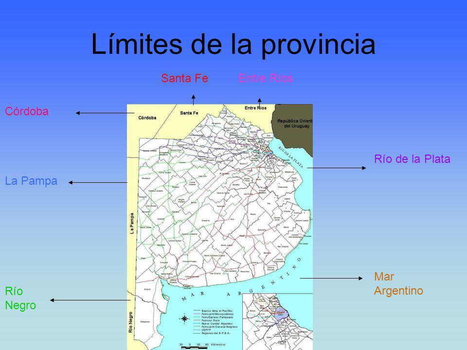 Límites de la provincia