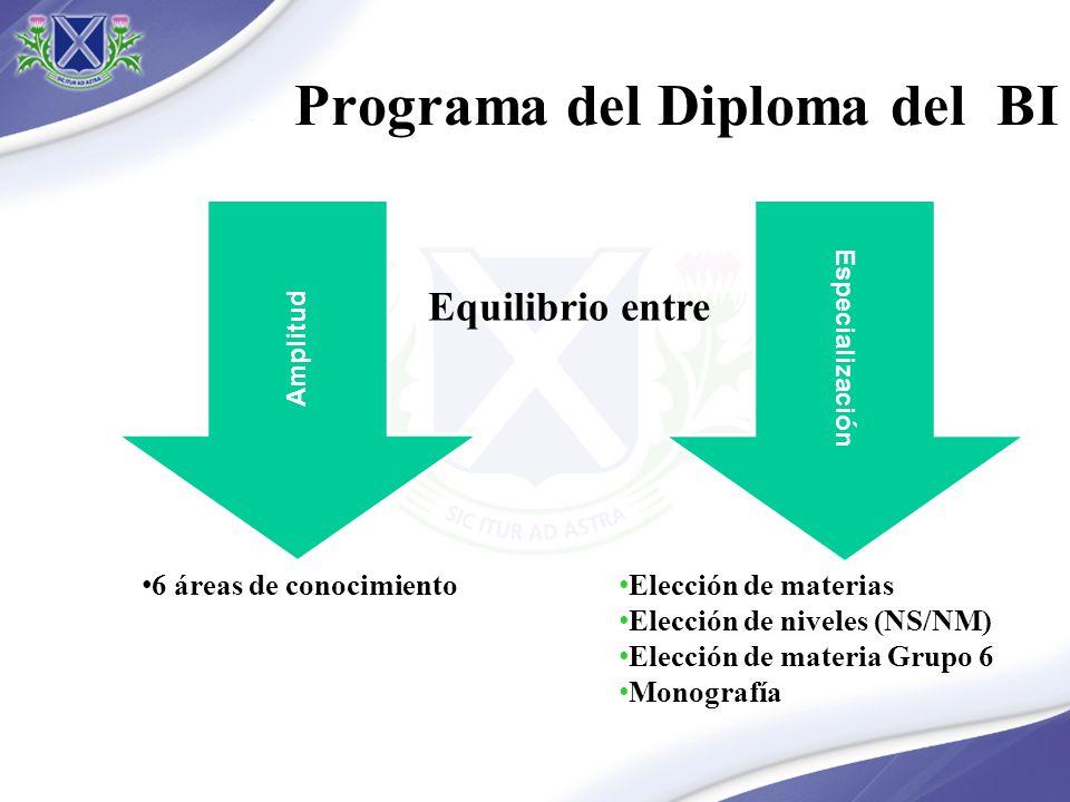 Programa del Diploma del BI