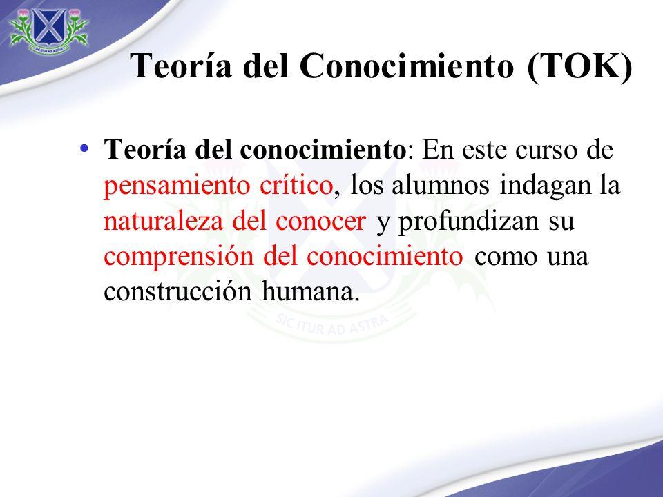 Teoría del Conocimiento (TOK)