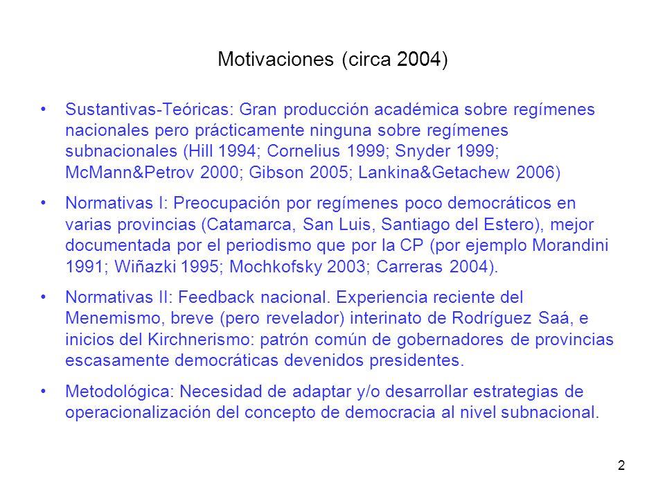 Motivaciones (circa 2004)