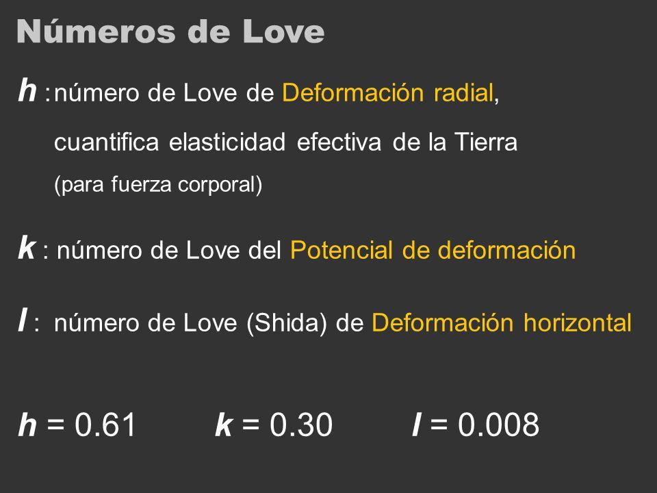 h : número de Love de Deformación radial,