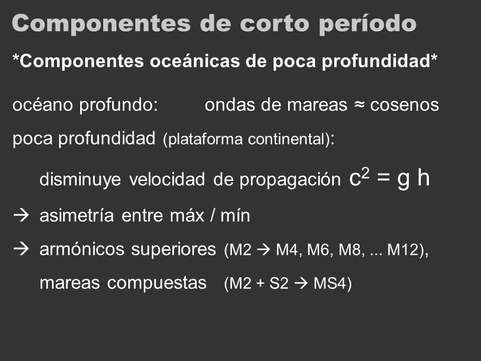 Componentes de corto período