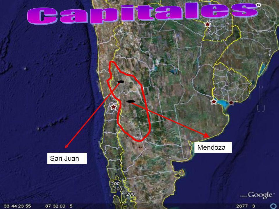 Capitales Mendoza San Juan