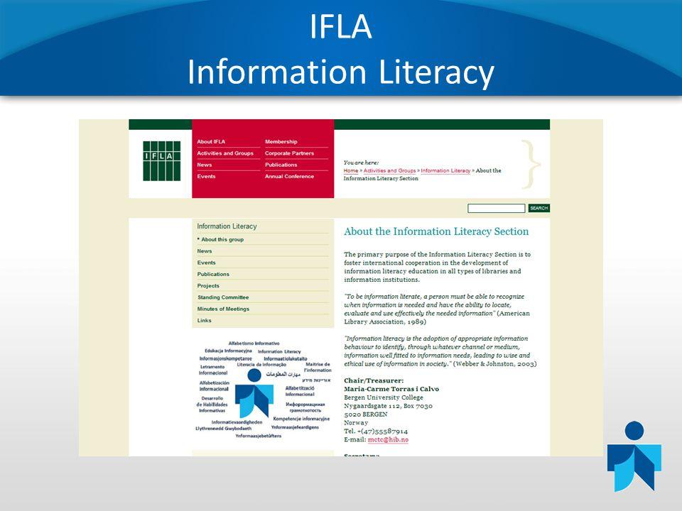 IFLA Information Literacy