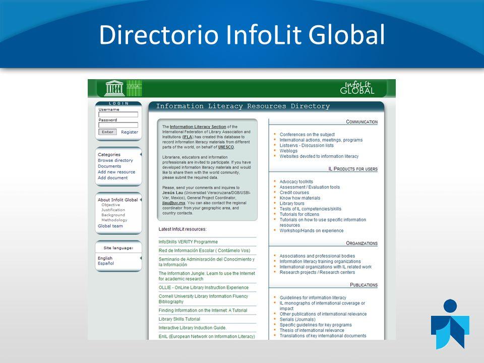 Directorio InfoLit Global