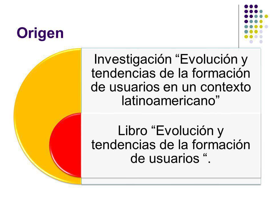 Libro Evolución y tendencias de la formación de usuarios .