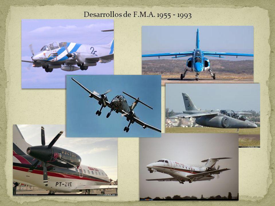 Desarrollos de F.M.A. 1955 - 1993