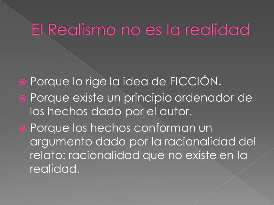 El Realismo no es la realidad
