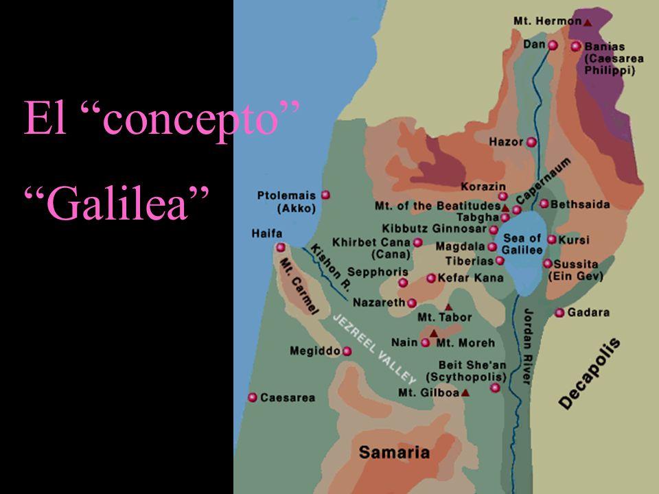 El concepto Galilea