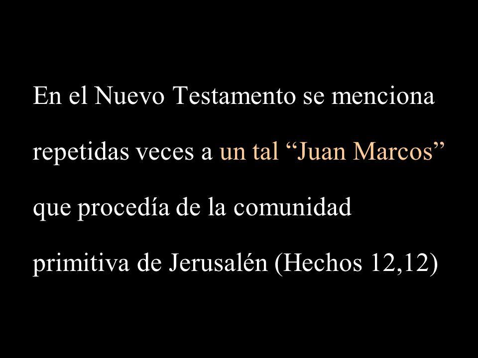 En el Nuevo Testamento se menciona