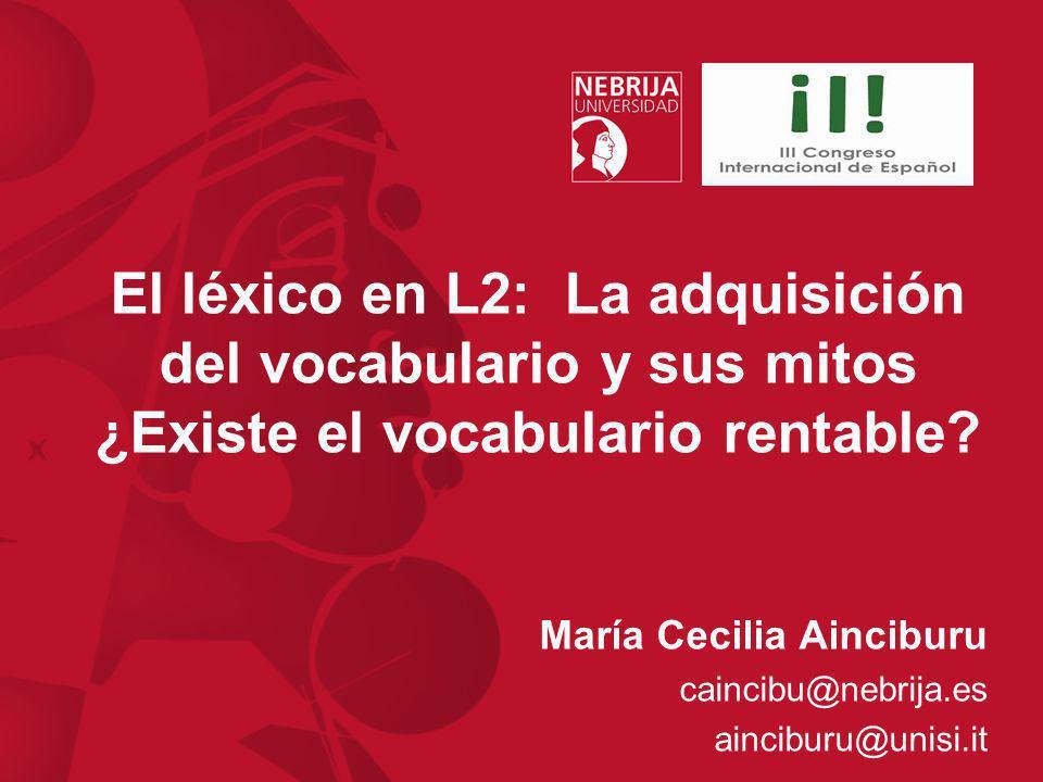 María Cecilia Ainciburu caincibu@nebrija.es ainciburu@unisi.it