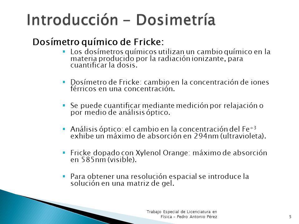 Introducción - Dosimetría