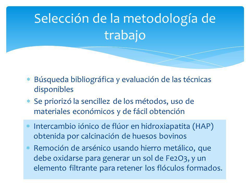 Selección de la metodología de trabajo