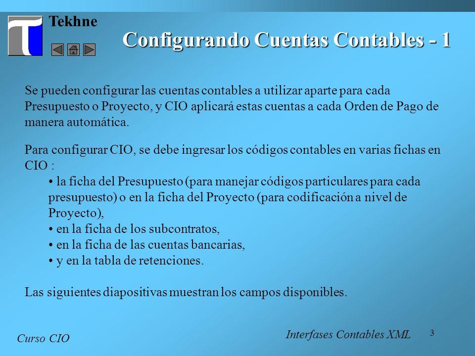 Configurando Cuentas Contables - 1