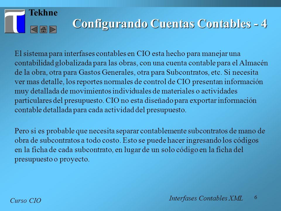 Configurando Cuentas Contables - 4