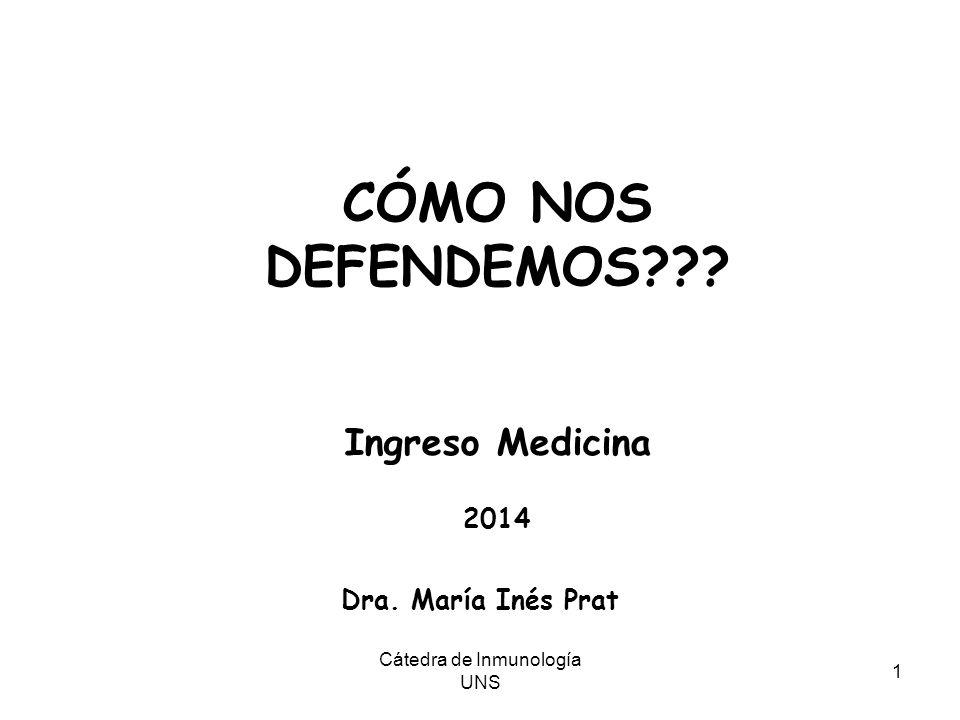 Cátedra de Inmunología UNS