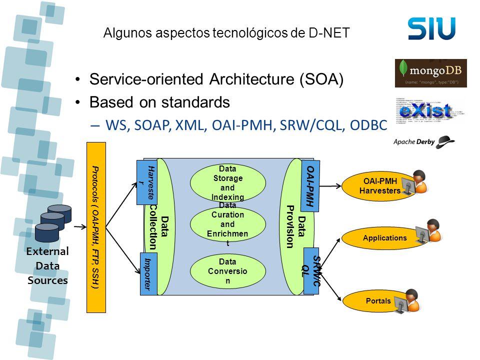 Algunos aspectos tecnológicos de D-NET