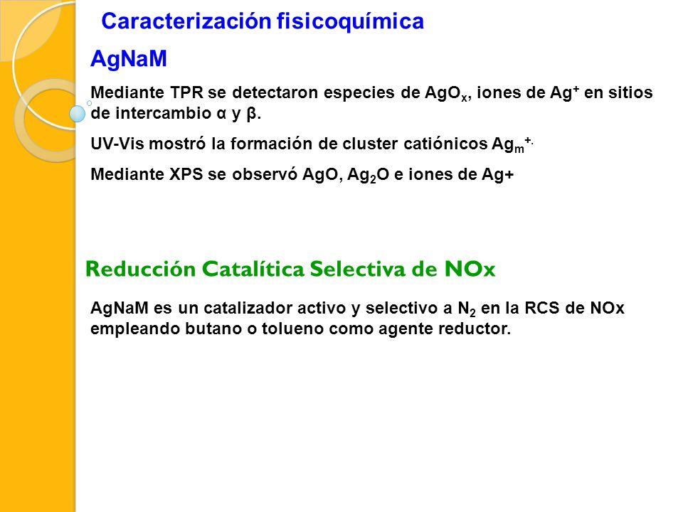 Caracterización fisicoquímica