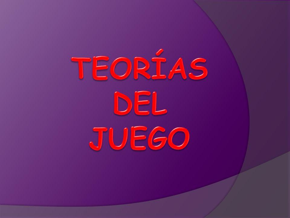 TEORÍAS DEL JUEGO