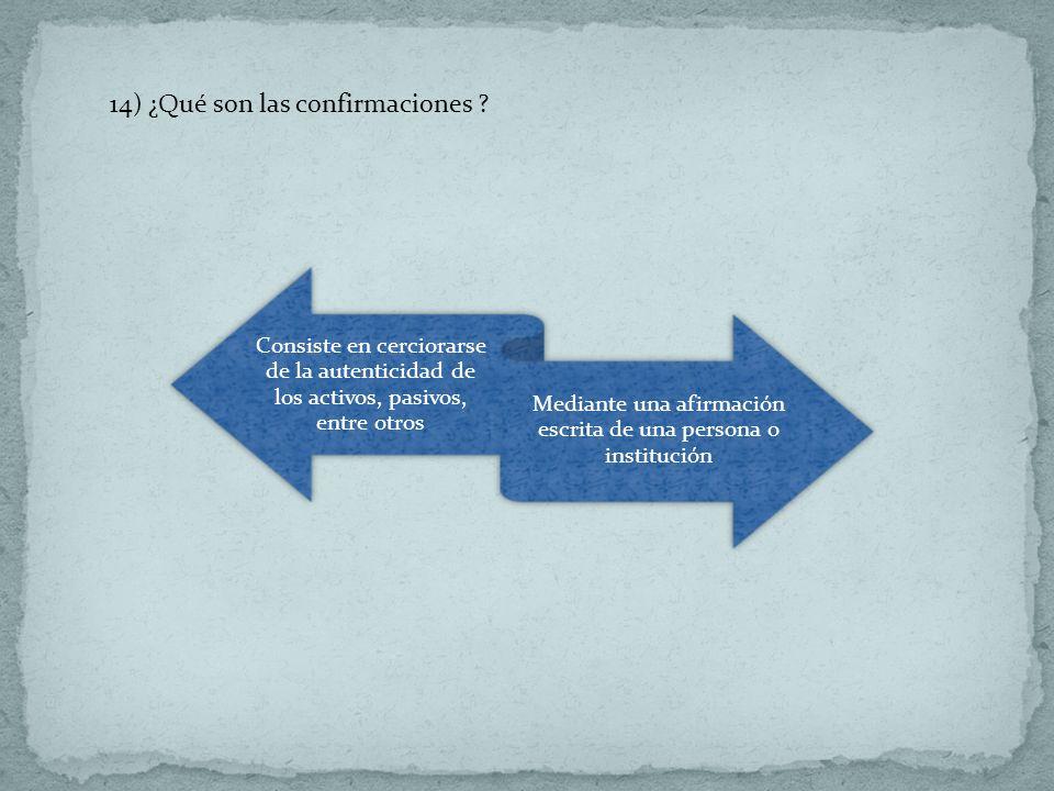 Mediante una afirmación escrita de una persona o institución