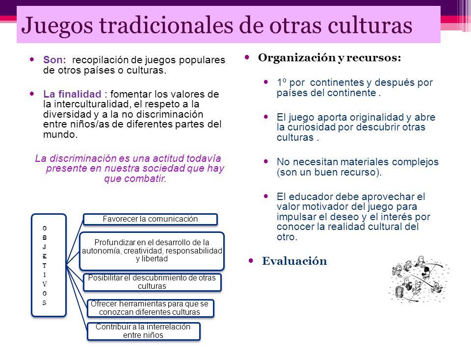 Juegos tradicionales de otras culturas