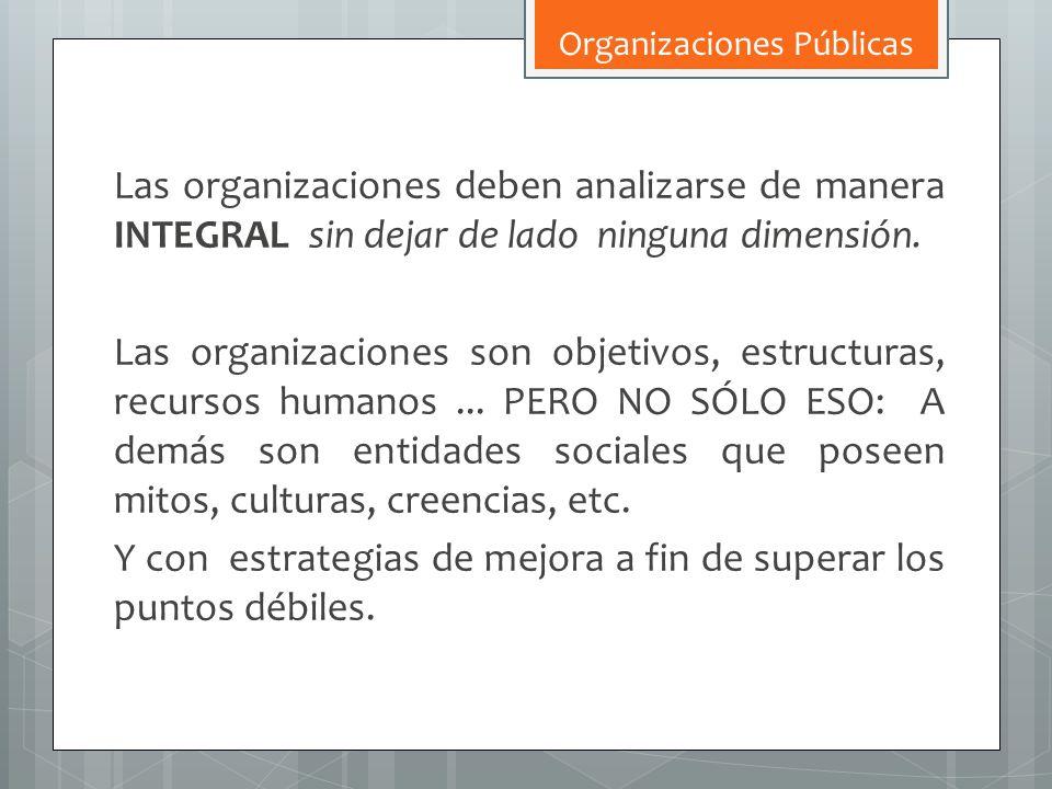 Organizaciones Públicas