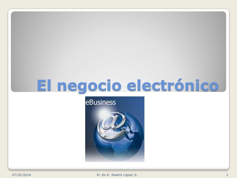 El negocio electrónico