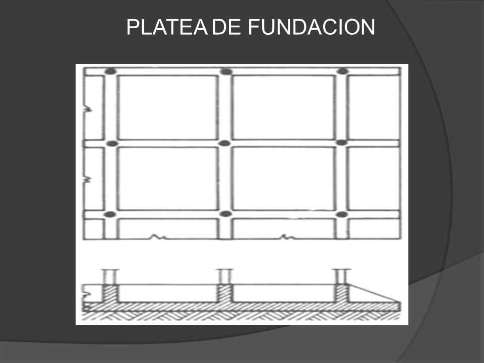 PLATEA DE FUNDACION
